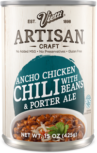Ancho Chicken Chili With Beans & Porter Ale