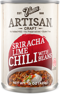 Sriracha Lime Chili With Beans