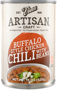 Buffalo Style Chicken Chili With Beans