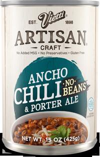Ancho Chili No Beans & Porter Ale