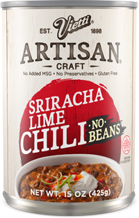 Sriracha Lime Chili No Beans