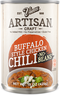 Buffalo Style Chicken Chili No Beans