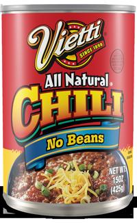 Chili No Beans